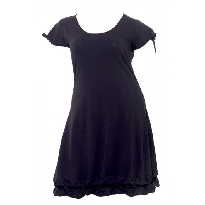Grote maten damesmode Boris Industries Jurken Boris Industries jurk knoopje km div kleuren tot maat 48/50 | Fashion In Conflict