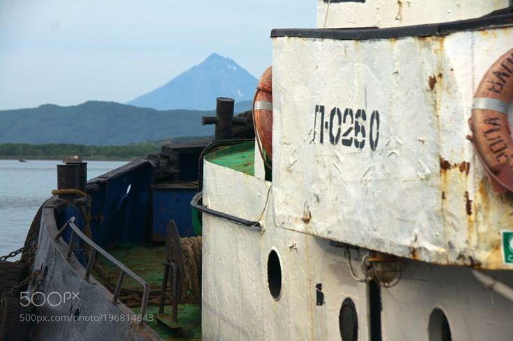 Popular on 500px : Battered Fishing Trawler by rolandkunz