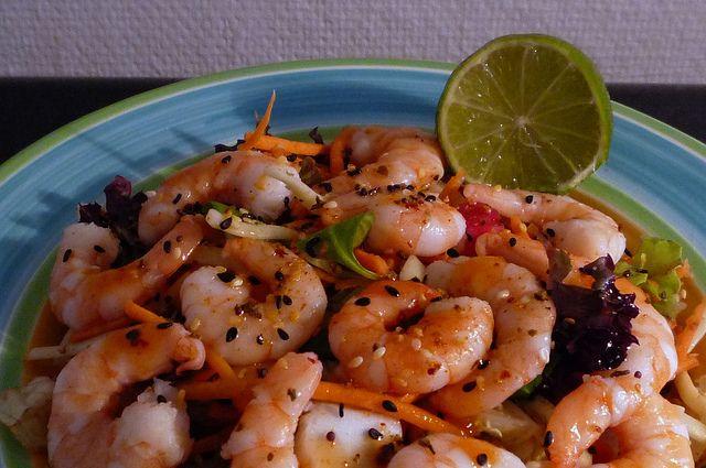 Prawn Salad | Flickr - Photo Sharing!