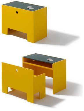 Monica Förster pour Richard Lampert | Table et banc Wonder Box, 2010 #mobilier …  – Home Sweet Home
