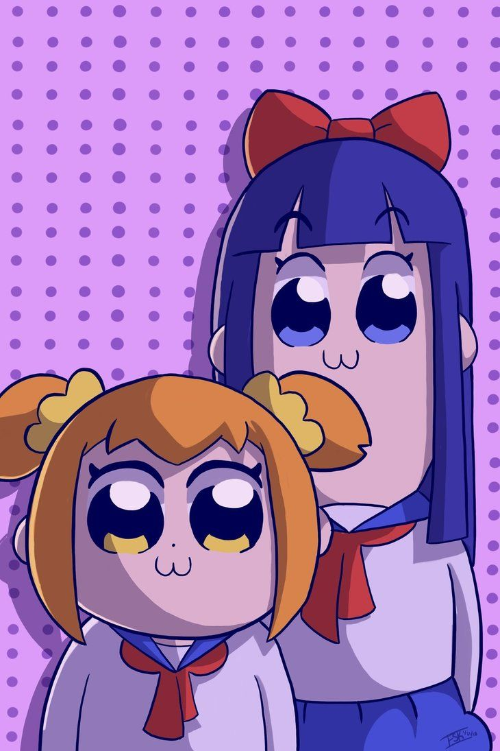 Pop Team Epic By Farooqskariem Fanart Epic Art Epic Anime