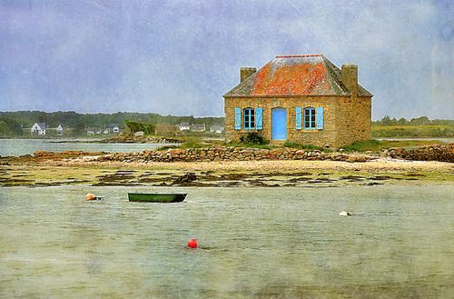 Fisherman house  byRoger Vasilescu