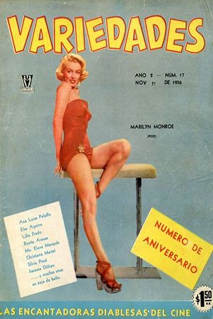 1956: Variedades (Mexico) magazine cover of Marilyn Monroe promoting the film 'How To Marry A Millionaire'  .... #normajeane #vintagemagazine #pinup #iconic #raremagazine #magazinecover #hollywoodactress #monroe #marilyn #1950s