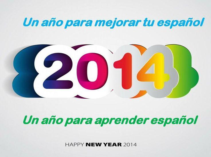Empieza un nuevo año, el 2014 con nuevas ilusiones y retos:  ¿quieres aprender español? ¿quieres mejorar tu español?  Desde www.e-spanishonline.com te animamos para que empieces tu clases.