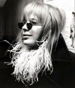 1960s: Inspiration, Color Glasses, Marianne Faithfull, 1960S, Heart Shapes, Heart Glasses, Styles Icons, Sunglasses, Heathrow Airports