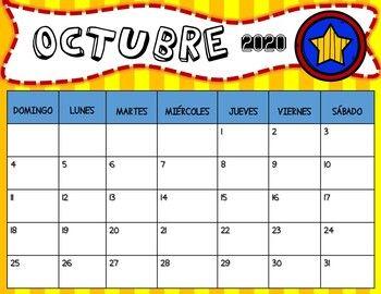 Calendario Escolar 2020-2021 en Español / School Calendar ...