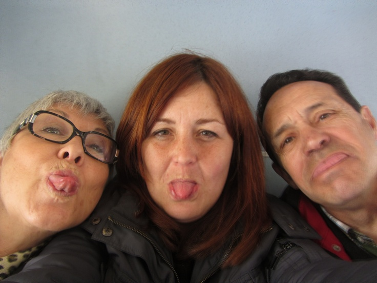 Being with my parents! #makesmehappy @White Stuff UK