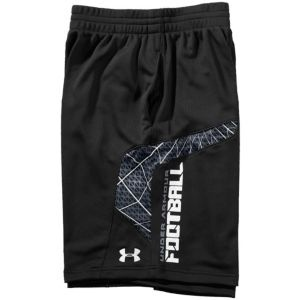 Under Armour NFL Combine Warp Speed Football Short - Men's - Football - Clothing - Black/White