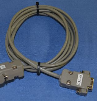 CAL2K-PCC - PC Cable - DDS CALORIMETERS  The PC Cable is the connection between the calorimeter and the computer PC cable is packaged in 1 unit per pack. Life Span : The PC Cable should never be replaced, unless broken or faulty - DDS CALORIMETERS