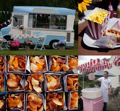 Fairground Themed Food