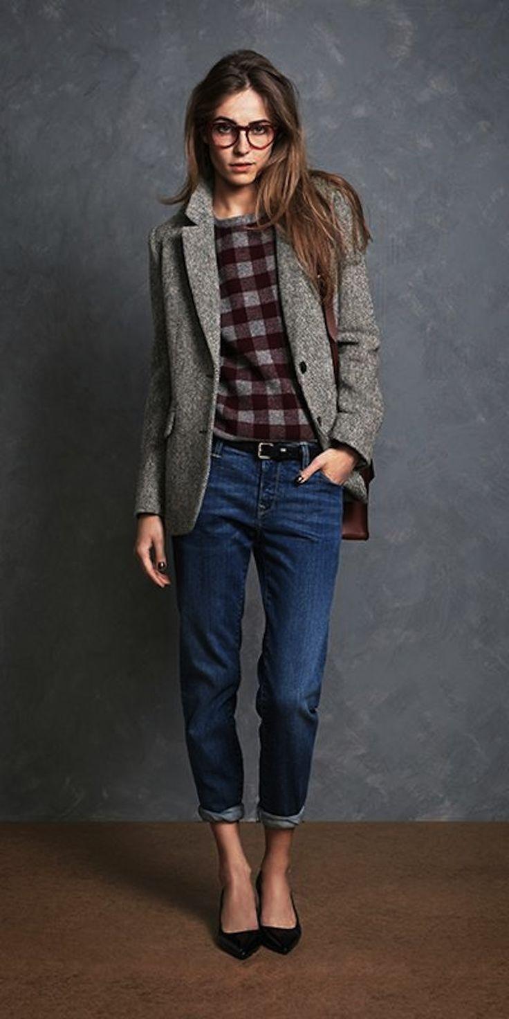 Твидовые пиджаки (72 фото): с чем носить женский пиджак из твида, с джинсами, с заплатками на локтях - налокотниками