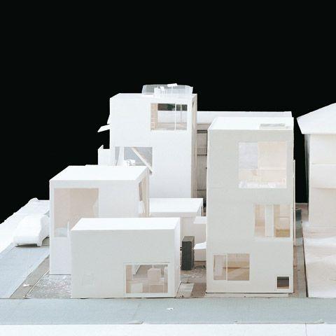 moriyama,  maquette, architectural model, maqueta, modulo