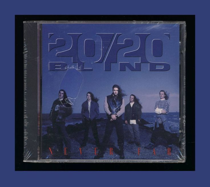 20/20 Blind - Never Far (CD 1994 InterSound) **NEW**OOP  CCM #Christian