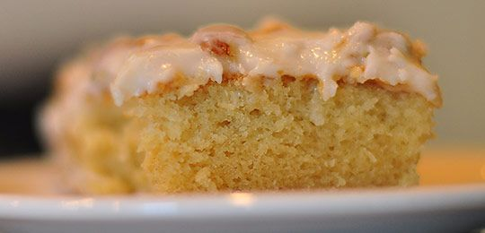 Karen DeMasco's Almond Cake With Apricot Preserves Recipe — Dishmaps