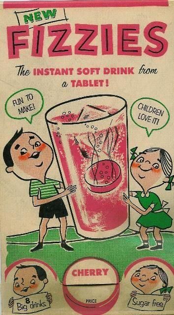 fizzies instant soft drink tablet