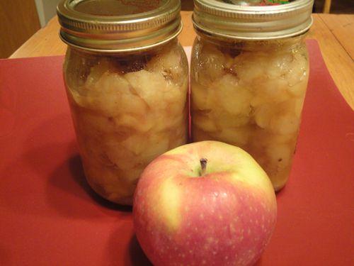 De la #compote de #pommes. #recettes #collation #dessert