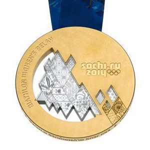 Gold Medal this year at Sochi, Russia for the 2014 Winter Olypmics