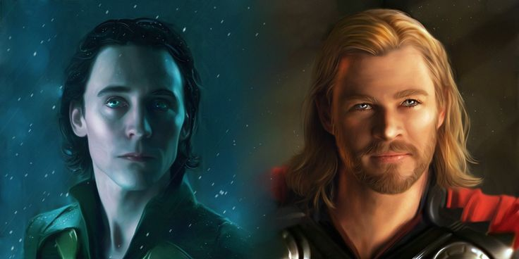 Локи и Тор. so distant yet so close — Thor community