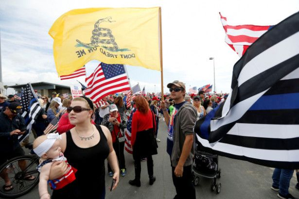 By Jacob Steinblatt for Vocativ - A heavily armed left-wing group, the John Brown Gun Club, made a surprise appearance over the weekend at a pro-Trump rally being held in Phoenix, Arizona with a co...