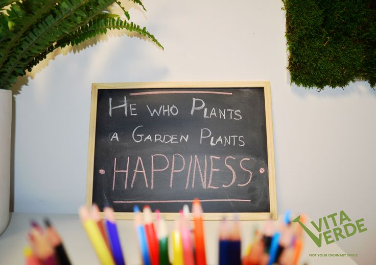 You can't buy happiness, but you can plant a garden and that's pretty much the same thing! Happy Monday!