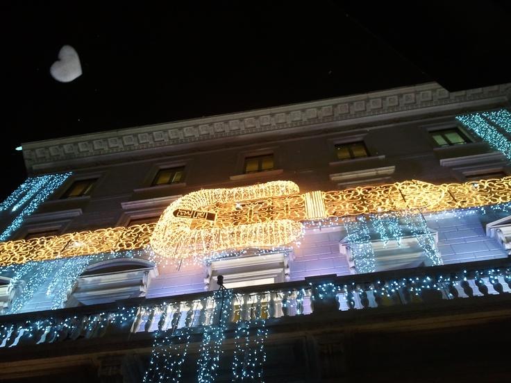 Fendi's palace at christmas time #Rome