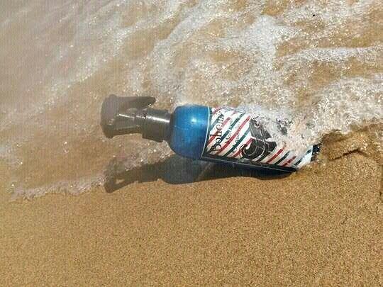 Bohemian spray moldeador agua de mar by aventuraCosmética. Www.Facebook.com/aventuracosmetica