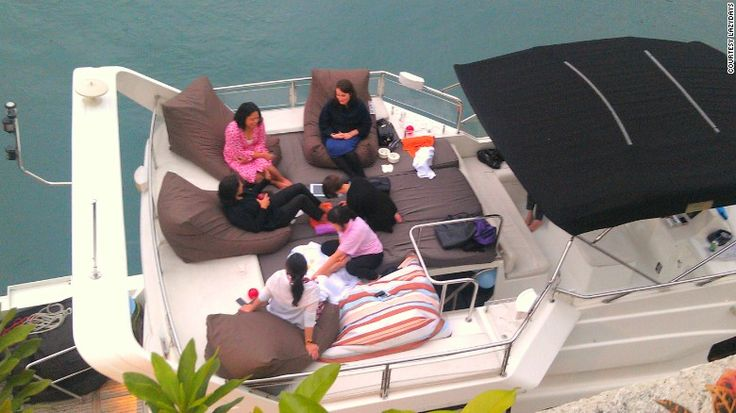 Customers can arrange for spa sessions at sea with Lazydays.