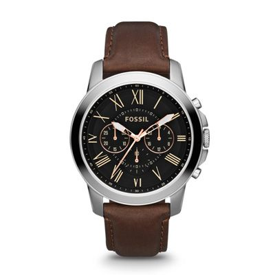 Buy Fossil FS4813  Brown Round Chronograph Watch by E TRADERS RETAIL, on Paytm, Price: Rs.6995?utm_medium=pintrest   40% sale
