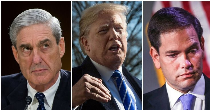 Marco Rubio Turns on Trump, Backs Mueller