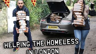 7:31  Giving Money & Pizza To Homeless People in London! Supercar Pizza Delivery