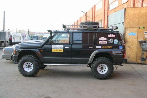 """Patrol Y60 got Swampers - 36"""" - Patrol 4x4 - Nissan Patrol Forum"""