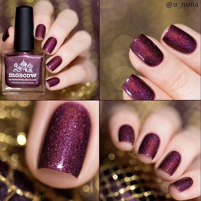 piCture pOlish 'Moscow' mani collage by U-Nona WOWZA shop on-line: www.picturepolish.com.au