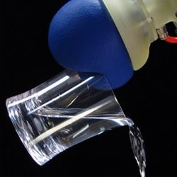 Amazingly clever 'granular jamming' robotic arm technology by Cornell Creative Machines Lab can pick up an egg and pour a glass of water.