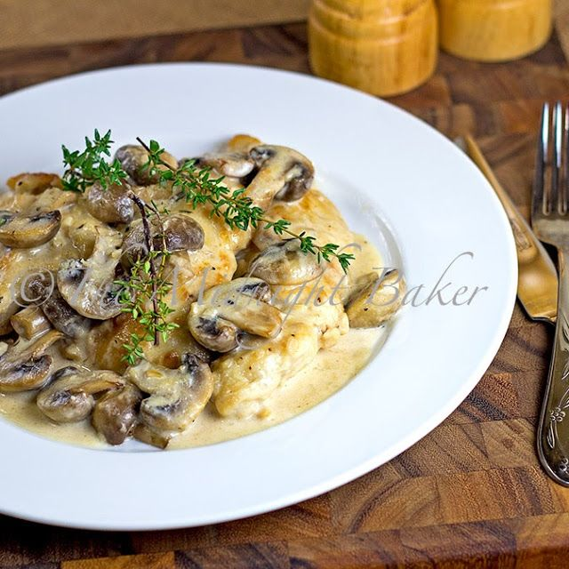 Mushroom Asiago Chicken. Won best of blogger recipes competition - must try.