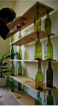 Miércoles de inspiración ? Reciclando botellas de cristal   Ser ecológico es facilisimo.com