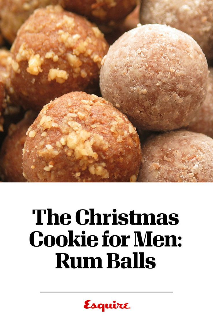 The Christmas Cookie for Men: Rum Balls  - Esquire.com