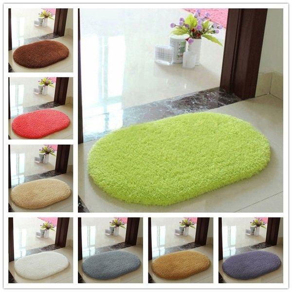 Soft Absorbent  Memory Foam Bath Bathroom Bedroom Floor Shower Non-slip Mat Rug
