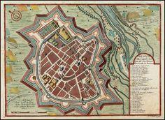 Munich, Ville Capitale des Etats de son Altesse Electorale de Baviere , , , 1705 - Barry Lawrence Ruderman Antique Maps Inc.