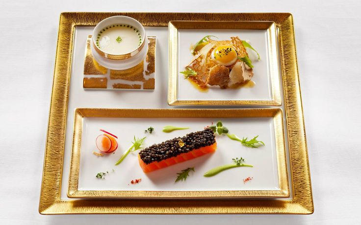 One of Joël Robuchon's delicious concoctions, featured at La Grande Maison in Bordeaux, France