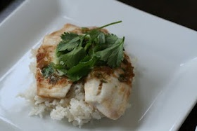 Oven Roasted Asian Tilapia - or maybe this one tonight