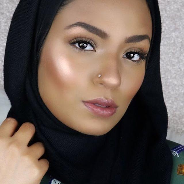 "The beautiful @hijabadore in our ""Boss"" lashes! #loveamlash #alwaysamandamarshall"