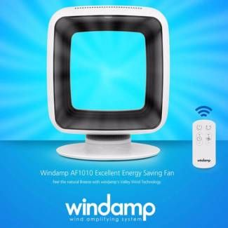 Windamp AF1010 Bladeless Portable Fan Cooling Air Remote Control | Air Conditioning & Heating | Gumtree Australia Manningham Area - Doncaster | 1115258775