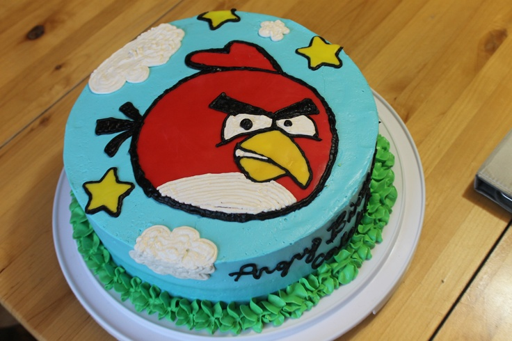 17 Best Images About Angry Birds On Pinterest: 17 Best Images About Red Angry Bird Cake On Pinterest