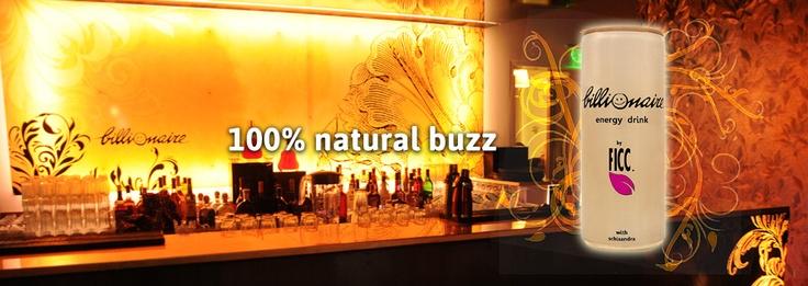 100 % natural buzz