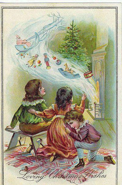 Christmas Old Postcards