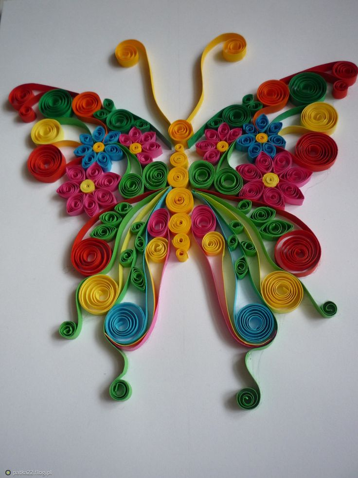 241 best quilled animals bugs images on pinterest for Quilling craft ideas