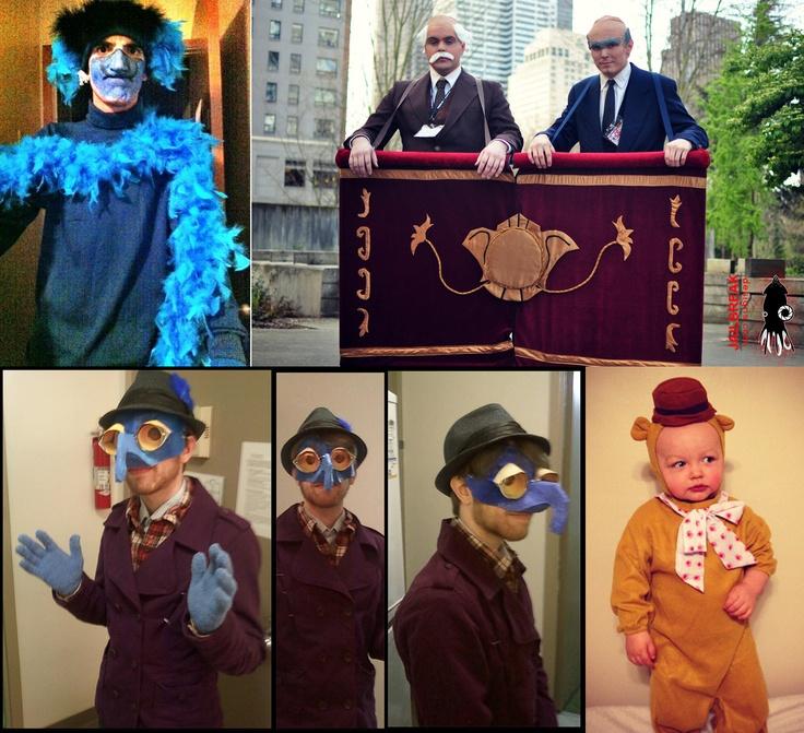 50 Best Statler And Waldorf Images On Pinterest: 30 Best Images About Muppets/Halloween On Pinterest