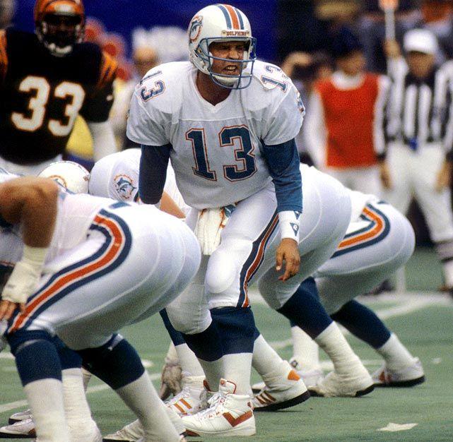 Dan Marino - The greatest QB never to win a Super Bowl.