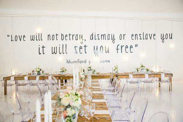 Love the Mumford and Sons quote!!!