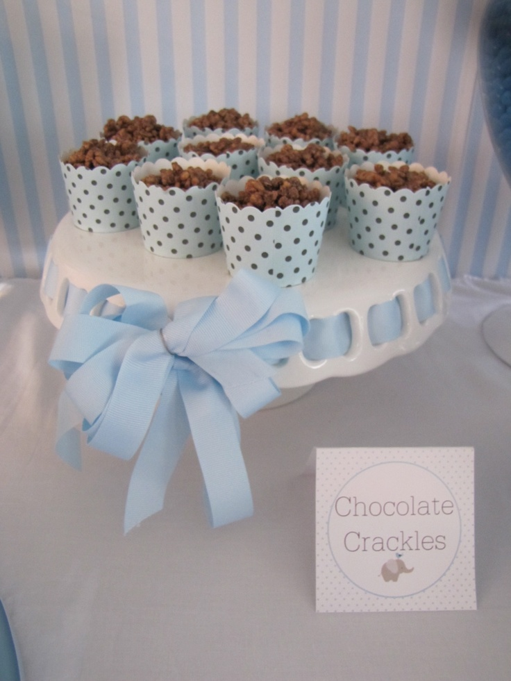 Chocolate crackles. Always a favourite.